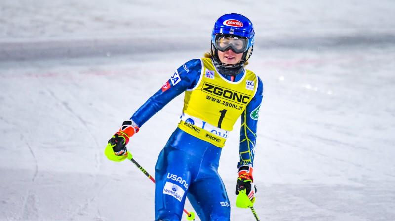 Mikaela Šifrina ir atpakaļ! Foto: EPA/Scanpix