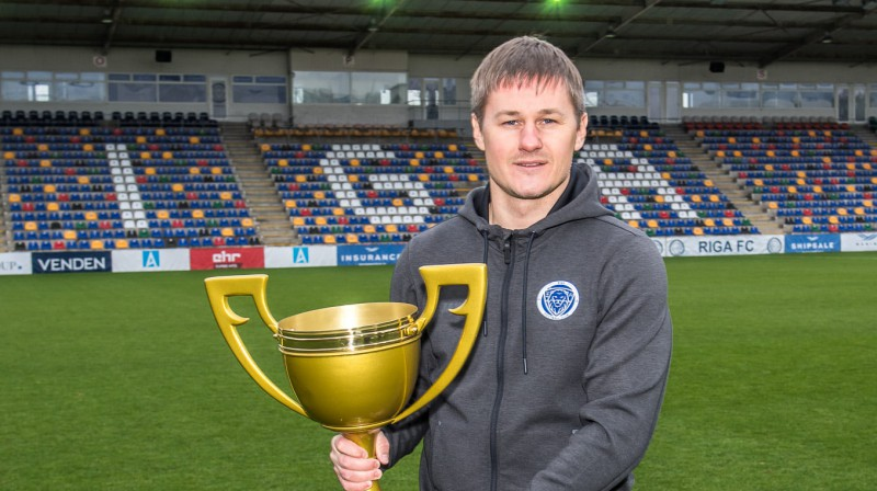 "Kristaps Blanks / Foto: Zigismunds Zālmanis/""Riga"" FC"