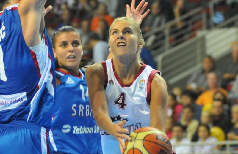 Dāmu basketbola izlase brauks uz EČ finālturnīru!