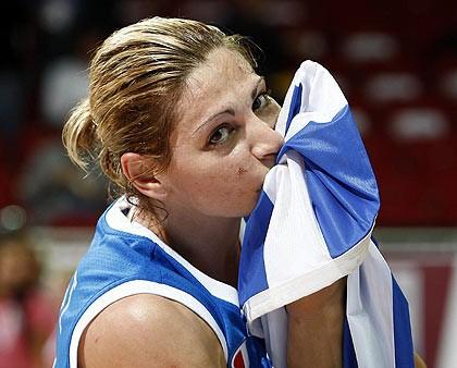 Latvijas konkurentes Grieķija un Horvātija naturalizē amerikāņu spēlētājas
