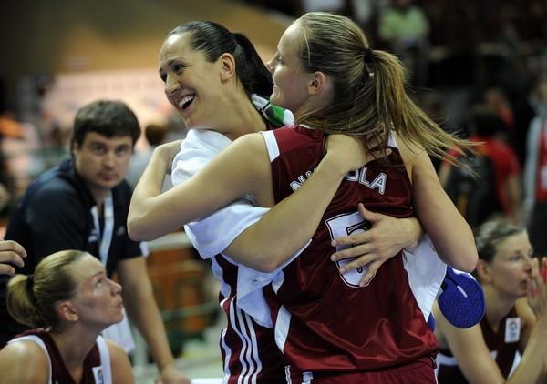 Latvija sakauj Poliju un iekļūst astoņniekā