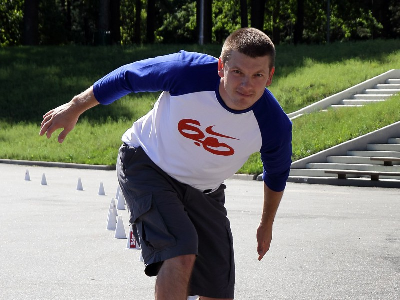 Kuzmins mērķē uz otru Ginesa rekordu