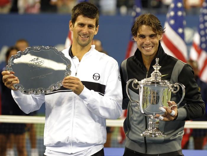 """Vai Džokovičs nostums Nadalu arī no """"US Open"""" troņa?"""