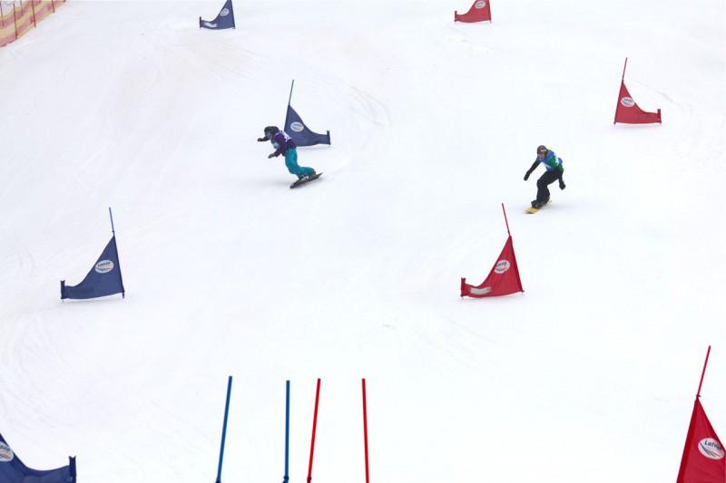 Izcīnīti 2012. gada Latvijas čempionu tituli snovborda slalomā