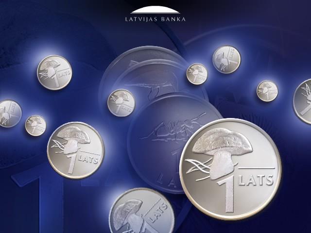 Latvijas Banka atbild, kāpēc netiek drukātas 1 un 2 latu papīra banknotes