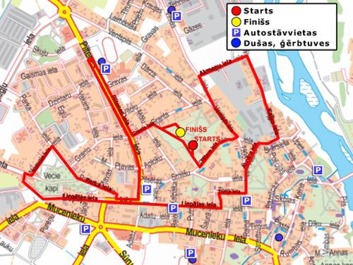10.augustā notiks SEB Kuldīgas pusmaratons