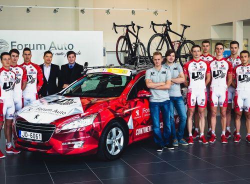 """""""Alpha Baltic/Unitymarathons.com"""" ieguvusi UCI kontinentālās komandas statusu"""