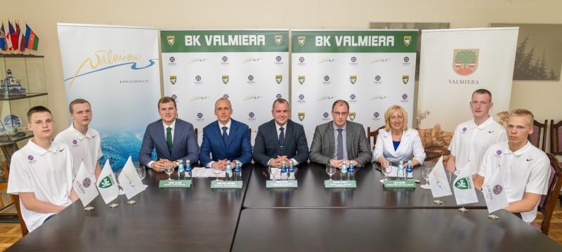 """Nākamo Bērziņu un Šmitu meklējot: Valmiera paplašina sadarbību ar BK """"Valmiera"""""""
