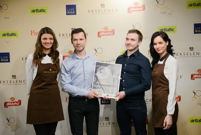Noskaidroti Ekselence 30 labākie restorāni Latvijā 2015. gadā