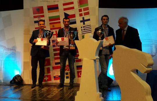 Šahistam Kovaļenko neplānots sudrabs Eiropas čempionātā