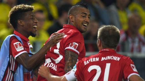 """""""Bayern"""" iztur Dortmundes spiedienu un triumfē Vācijas Superkausā"""