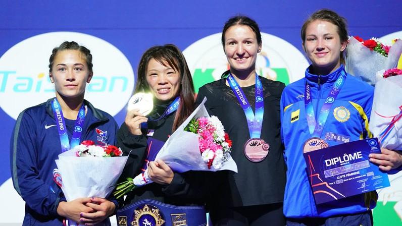 Grigorjeva pēdējā brīdī izrauj pasaules čempionāta bronzu