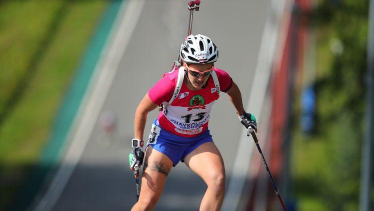 Rastorgujevs un Bendika uzvar Latvijas čempionāta vasaras biatlona pirmās kārtas sprintā