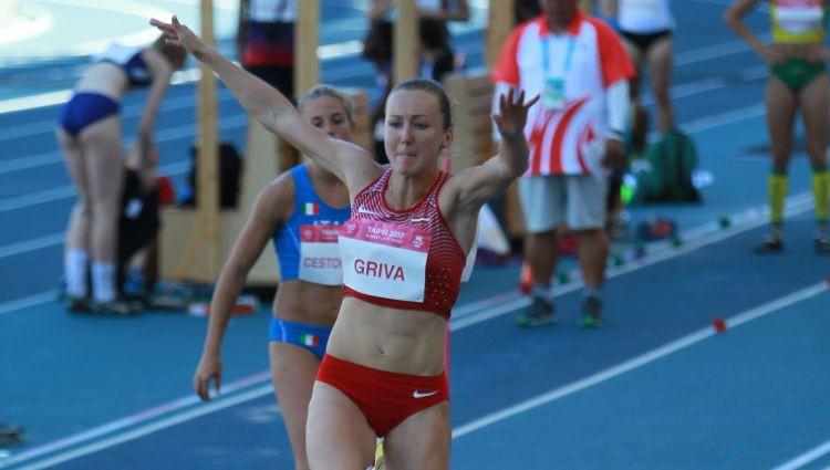 Mārai Grīvai bronza trīssoļlēkšanā pasaules universiādē