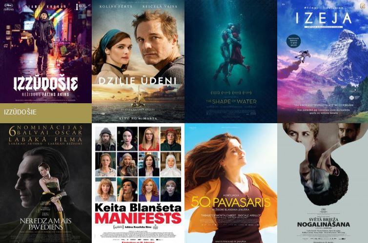 """Repertuārs kinoteātrī """"Splendid Palace"""" no 9. līdz 15. martam"""