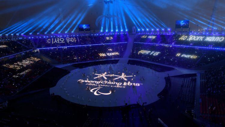 Phjončhanā svinīgi atklātas ziemas paralimpiskās spēles