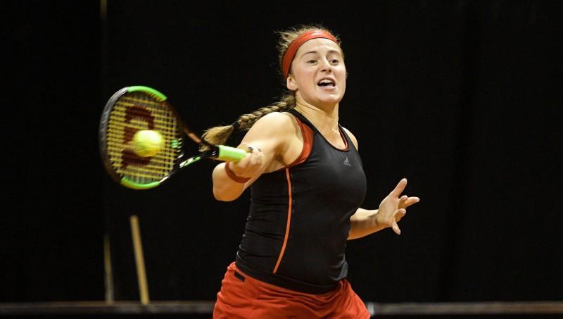 """Ostapenko Vācijā pirmais māla turnīrs kopš uzvaras """"French Open"""""""