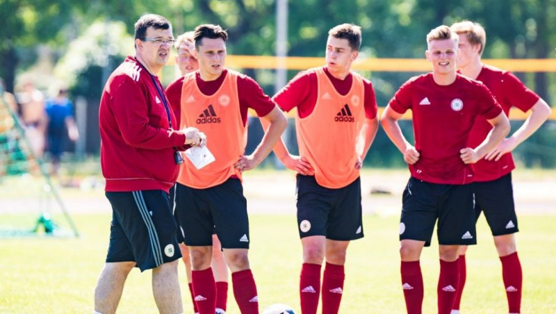 U21 izlasei Eiropas čempionāta kvalifikācijas izlozē tiek divas kaimiņvalstis