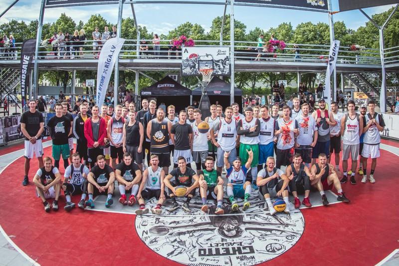 """14. jūnijā Grīziņkalnā tiks izspēlēta piektā ceļazīme uz """"Ghetto Basket"""" """"Quest"""" finālu"""