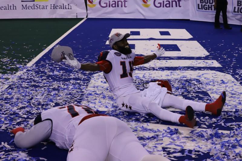 """Vašingtona uzvar arī """"Arena Bowl"""""""