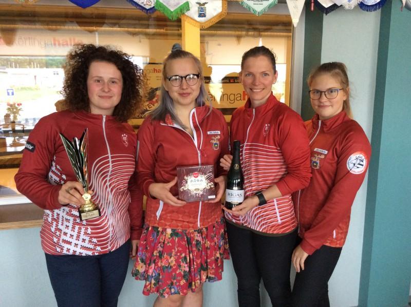 """""""Riga Open 2018"""" titulu izcīna JKK/Stašas-Šaršūnes kērlinga komanda"""