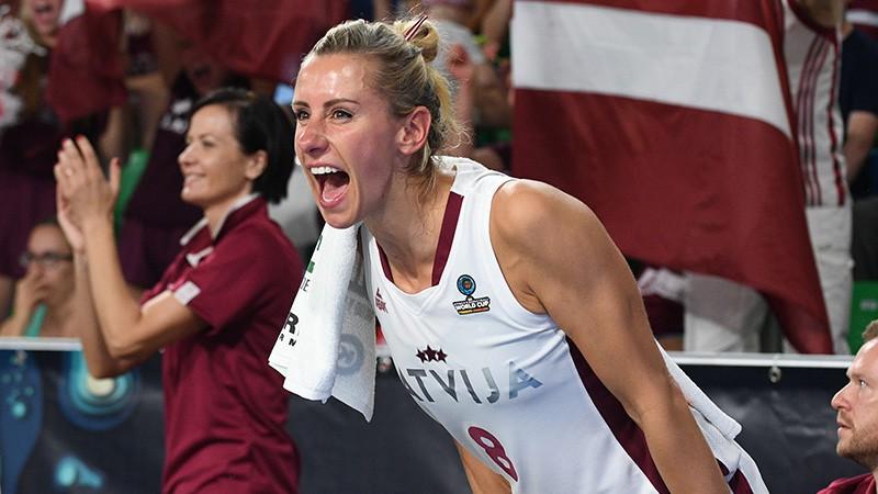 Tiešraide: Latvija - ASV 76:102 (spēle noslēgusies)