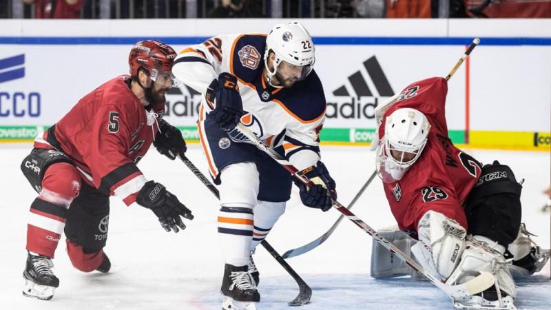 """Edmontonas """"Oilers"""" Ķelnē papildlaikā pārspēj vietējo """"Haie"""""""