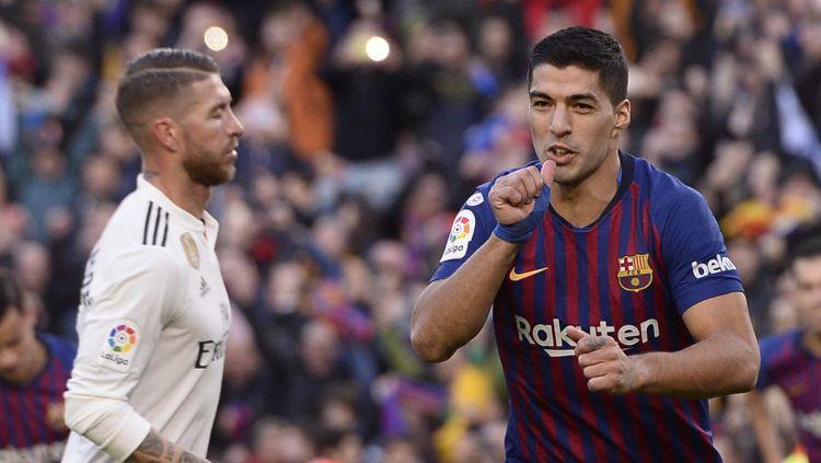 "Svaress un ""Barcelona"" ar 5:1 noper Madrides ""Real"" un triumfē ""El Clasico"""