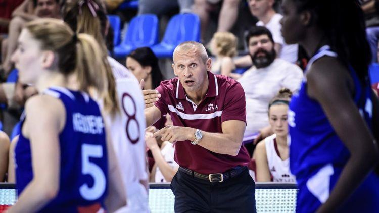 Latvijas U18 meiteņu izlasi turpinās trenēt Čukste