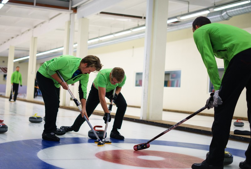 Vīriešu kērlinga izlasei pēdējais pārbaudes turnīrs Šveicē pirms Eiropas čempionāta