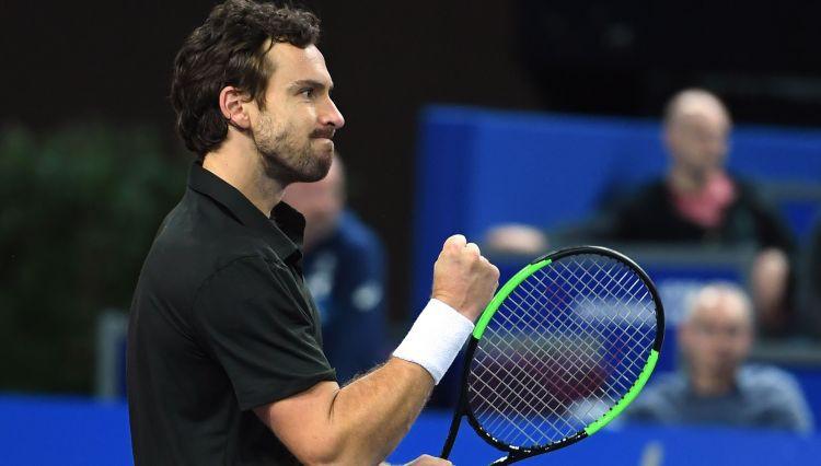 Gulbis spilgti atgriežas ATP dubultspēlēs un sasniedz pusfinālu Budapeštā