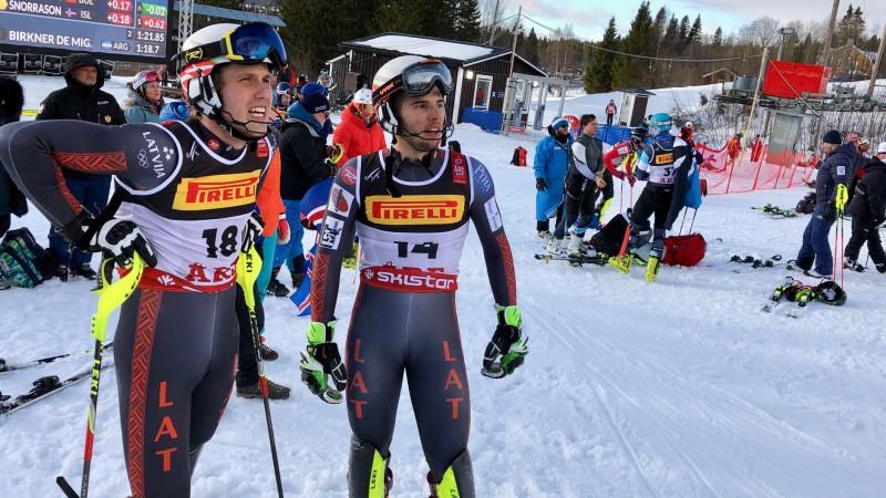 Mikam Zvejniekam 38. vieta pasaules čempionāta slalomā