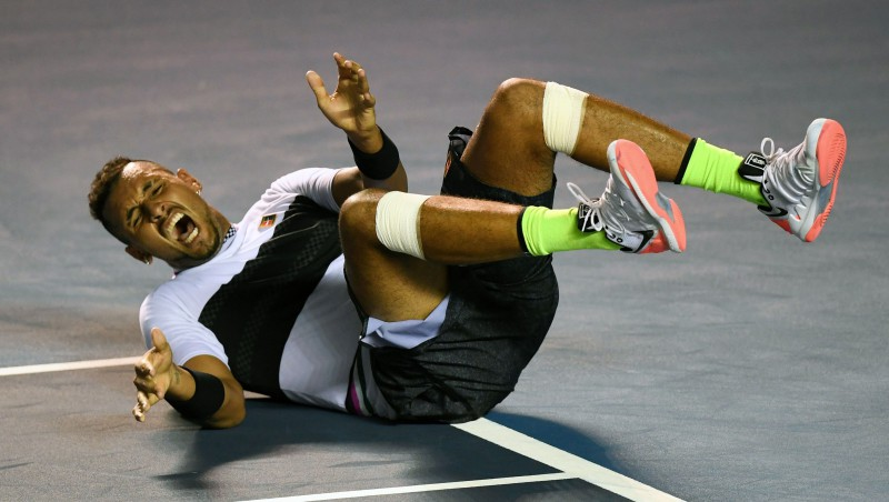 Kirioss atspēlē trīs mačbumbas dramatiskā uzvarā pār Nadalu