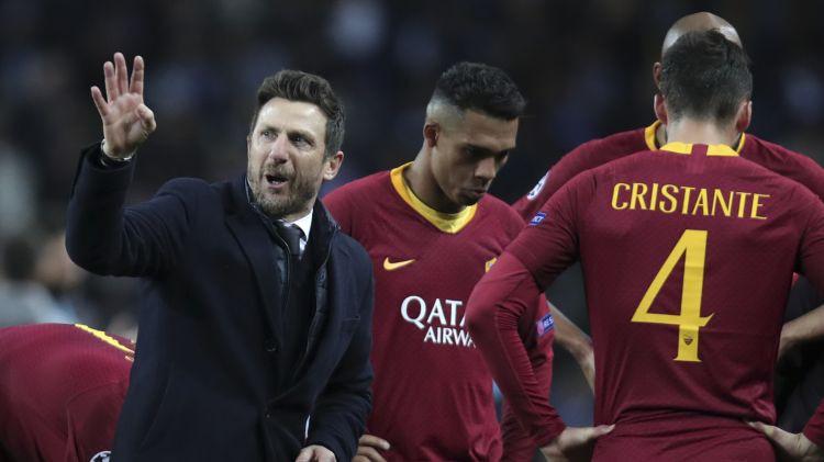 """""""Roma"""" atlaiž galveno treneri di Frančesko, vietā gaidāms Ranjēri"""