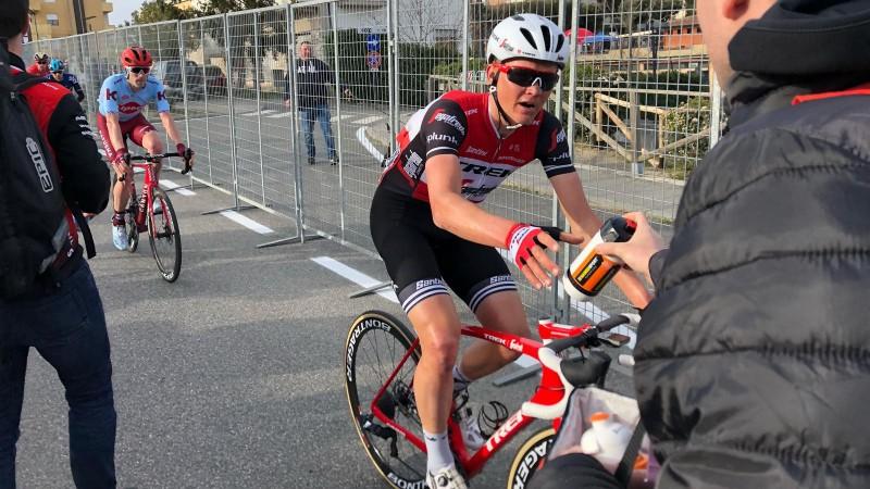 "Skujiņam 20. vieta ""Tirreno-Adriatico"" otrajā posmā"