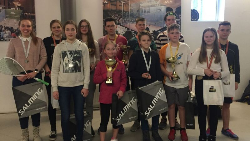Ķekavnieks Plūme kļūst par Baltijas junioru čempionu skvošā