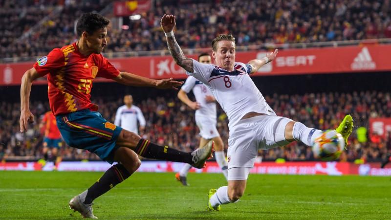 Treimanis Spānijas uzvarā pār Norvēģiju piešķir divas pendeles