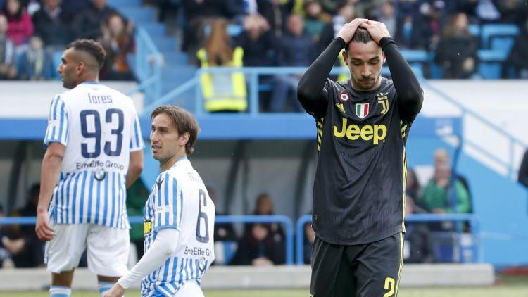 """""""Juventus"""" negaidīti zaudē SPAL un čempionu titulu vēl nenodrošina"""