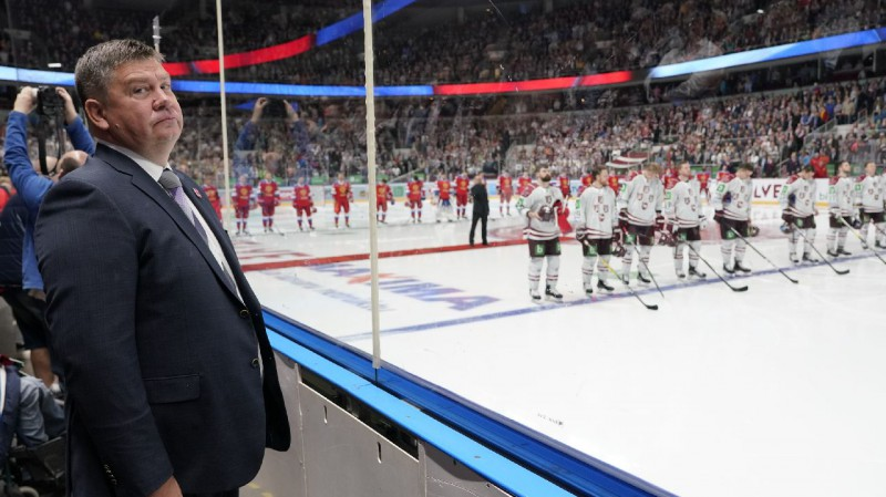 """Kalvītis: """"Manā vadībā hokeja saimniecības budžets trīskāršojies"""""""