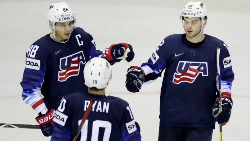 Keins kļūst par ASV rezultatīvāko spēlētāju komandas panākumā pār Lielbritāniju