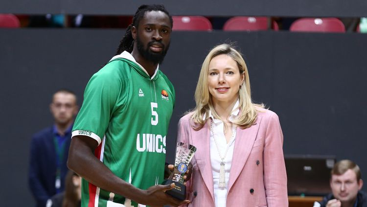 """Par VTB līgas labāko aizsardzības spēlētāju kļūst bijušais """"Knicks"""" pārstāvis"""