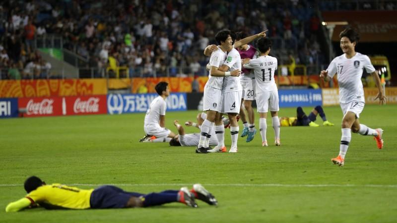 U20 Pasaules kausa finālā pirmo reizi iekļūst Ukraina un Dienvidkoreja