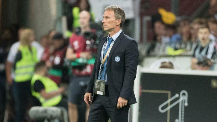 """Igaunijas treneris pēc 0:8: """"Ja mana aiziešana palīdzēs, atkāpšos no amata"""""""