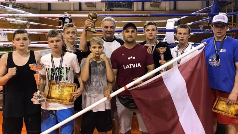 Latvijas jaunie bokseri triumfē turnīrā Grieķijā