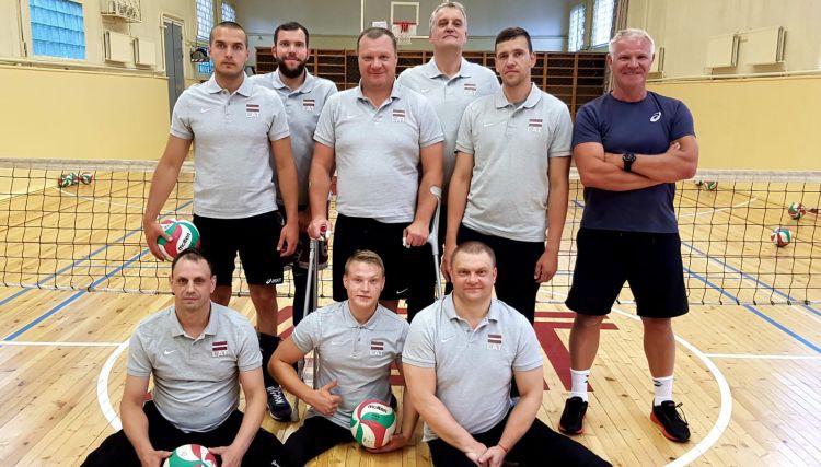 Latvijas izlase sēdvolejbolā dodas uz 2019. gada Eiropas čempionātu sēdvolejbolā
