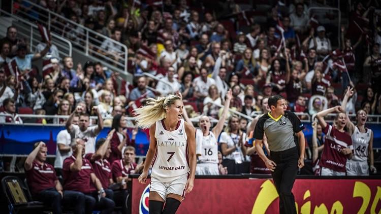 """Valstsvienībai jauns mērķis: """"Women`s EuroBasket 2021"""" Francijā un Spānijā"""