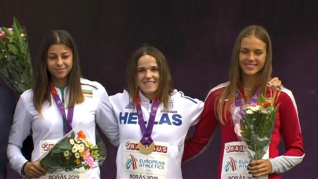 Trīssoļlēcējai Lasmanei bronzas godalga U20 Eiropas čempionātā