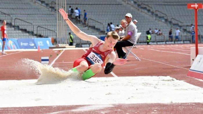 Trīssoļlēcējs Hadakovs izcīna sesto vietu Eiropas Jaunatnes olimpiādē