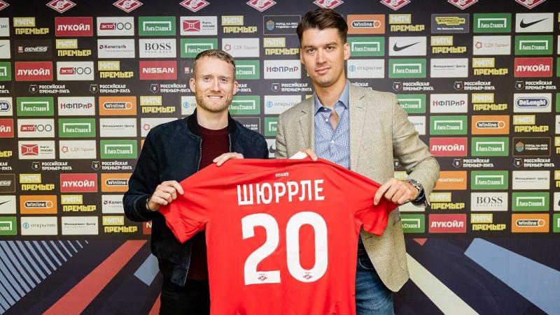 """""""Spartak"""" īrēs Širli, Malkoms piektdien ieradīsies Sanktpēterburgā"""