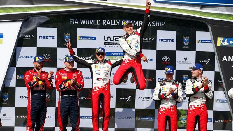 Tanaks izcīna trešo uzvaru aizvadīto četru WRC posmu laikā